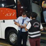 ARTESP realiza blitz de fiscalização em três Terminais Rodoviários da Capital e de Campinas