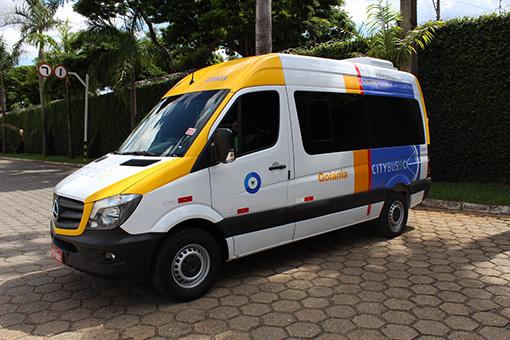 Os miniônibus do CityBus 2.0 ugares
